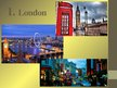 Presentations 'Five Top UK Destinations', 2.