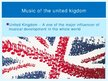 Presentations 'Music of the United Kingdom', 2.