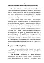 Research Papers 'Developing Writing Skills in Primary School', 10.