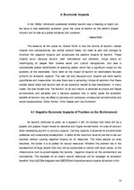 Research Papers 'Positive and Negative Impacts of Tourism on the Environment', 14.