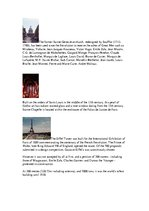 Summaries, Notes 'Historical Monuments in Paris ', 2.