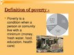 Presentations 'International Problem - Poverty', 4.