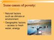 Presentations 'International Problem - Poverty', 5.