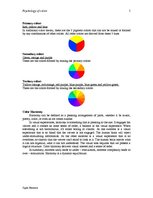Research Papers 'Psychology of Color', 5.