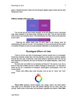 Research Papers 'Psychology of Color', 7.