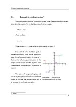 Summaries, Notes 'Spatial Coordinate Systems', 6.