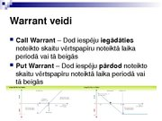 Research Papers 'Security Analysis: Warrant (Finance)', 9.