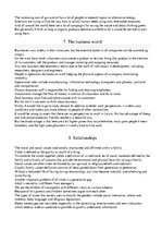 Summaries, Notes 'The Oral Part of the English Language Proficiency Exam', 4.