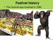 Presentations 'Monkey Buffet Festival', 4.