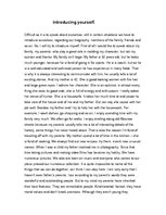 College Essays, College Application Essays - Introducing myself essay