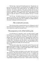 Essays 'The Construction Process. Būvniecības process', 7.