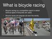 Presentations 'Bicycle Racing', 3.