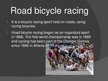 Presentations 'Bicycle Racing', 5.
