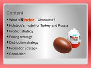 Research Papers 'Kinder Chocolate Marketing Strategy Analysis', 15.