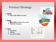 Research Papers 'Kinder Chocolate Marketing Strategy Analysis', 20.