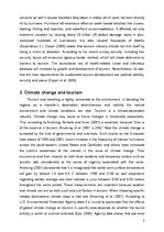 Research Papers 'Dealing with Security, Effect of Natural Disasters and Global Warming on Tourism', 8.