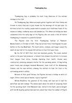 thanksgiving day essays history culture id  essays thanksgiving day 1
