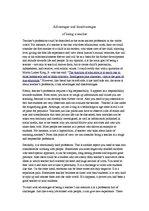 Becoming a teacher essay