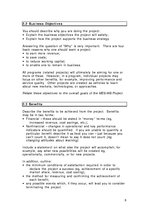 Summaries, Notes 'The Educational Quality Component Business Plan ', 6.