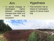 Presentations 'The Peat Extraction Impact on Hydrological Regime of the Raised Bog', 5.