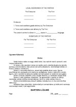 sample barter contract