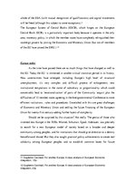 Research Papers 'European Economic Integration and Transition Countries', 5.