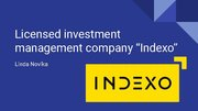 "Presentations 'Investment Company ""Indexo""', 1."