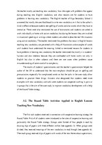 Term Papers 'Using Cooperative Learning Strategy - The Round Table, in Teaching English Vocab', 44.