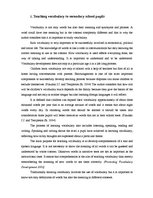 Research Papers 'The Use of Colours in English Lessons Teaching Vocabulary to Secondary School Pu', 8.