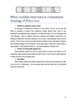 "Research Papers 'Competitiveness of Company ""Volvo""', 19."