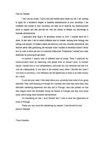 Sample Motivation Letter For Master Degree In Business ...