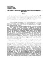 Research Papers 'The Impact of Politics on Economics - John Connor, Acadia Univ. Nova Scoti', 1.