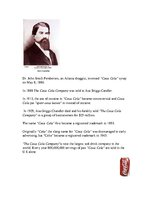"Summaries, Notes '""Coca-Cola"" History', 1."
