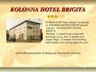 Presentations 'Offers of Three Hotels of Baltic', 4.