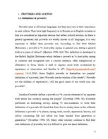 Research Papers 'The Theme of Family and Home in the English and Russian Proverbs', 6.
