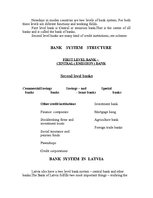 Research Papers 'The Importance of Banking System in the Country's Economical Life', 3.