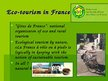 Presentations 'Sustainable Tourism in France', 4.