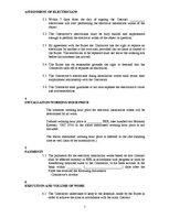 Samples 'Contract about Electrical Installation Works', 2.